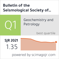 Bulletin of the Seismological Society of America