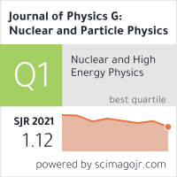 Journal of Physics G: Nuclear and Particle Physics