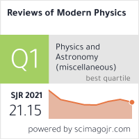 Reviews of Modern Physics