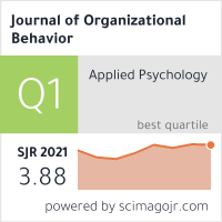 Journal of Organizational Behavior
