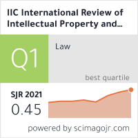 International Review Of Intellectual Property And Competition Law Jochen
