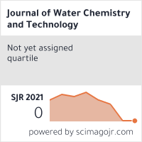 SCImago-статистика журнала 'Химия и технология воды