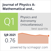 Journal of Physics A: Mathematical and Theoretical